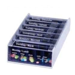ANABOX Medidispenser 7Tage blau