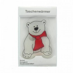 HERBORISTERIA Taschenwärmer Eisbär Schärpe