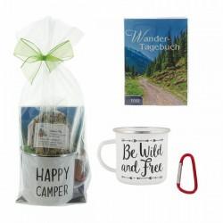 HERBORISTERIA Geschenkset Wander-Tee Tasse Buch