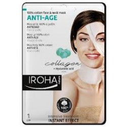 IROHA Cotton Face&Neck Mask A Age 30 ml