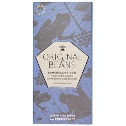 ORIGINAL BEANS Esmeraldas Milk Schokolade Bio 70 g