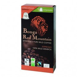ORIG FOOD Bonga Red Mountain Kaps Espre 10 Stk
