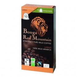 ORIG FOOD Bonga Red Mountain Kaps Lungo 10 Stk