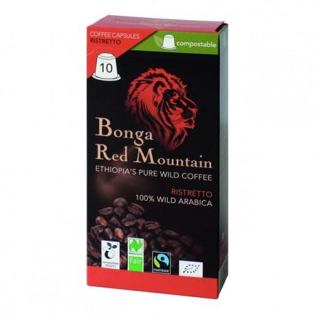 ORIG FOOD Bonga Red Mountain Kaps Ristr 10 Stk