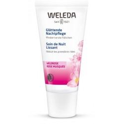 WELEDA Wildrosen Nachtpflege glättend 30 ml