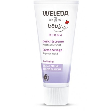 WELEDA BABY Derma Weisse Malve Gesichtscr 50 ml
