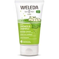 WELEDA KIDS 2in1 Shower&Shampoo Sprit Limet 150 ml