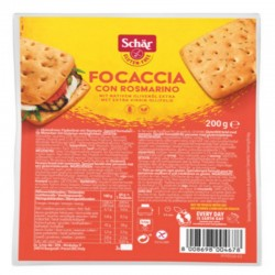 SCHÄR Focaccia mit Rosmarin glutenfrei 200 g