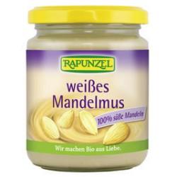 RAPUNZEL Mandelmus Bio weiss Glas 500 g